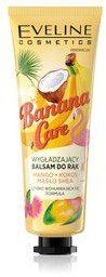 Eveline Banana Care, wygładzający balsam do rąk, 50 ml
