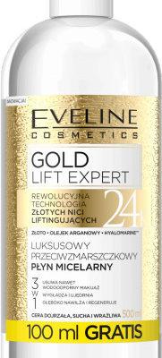 Eveline GOLD LIFT Płyn micelarny 500ml