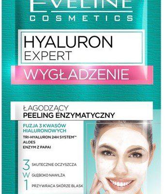 Eveline Hyaluron Expert peeling enzymatyczny Wygładzenie saszetka 2x5ml 10ml
