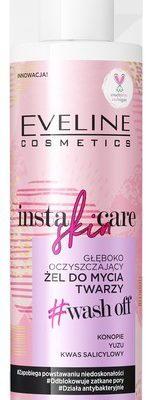Eveline Insta Skin Care ŻEL do mycia twarzy głęboko oczyszczający 200ml