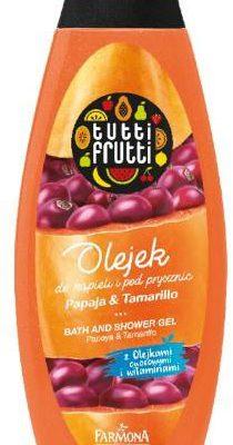 Farmona Farmona Tutti Frutti olejek do kąpieli i pod prysznic papaja i tamarillo 425 ml 1141370