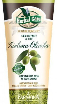 Farmona HERBAL CARE Krem do stóp odżywczy - zielona oliwka 100ml