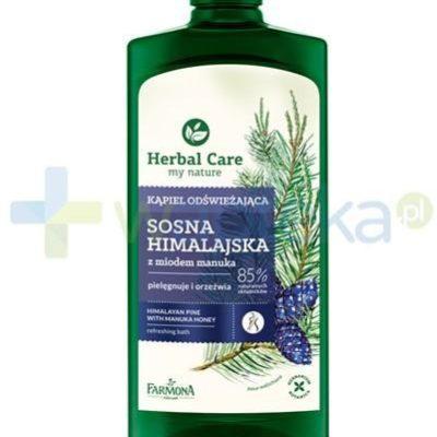 Farmona Herbal Care Sosna himalajska płyn do kąpieli z miodem manuka 500 ml 1126855