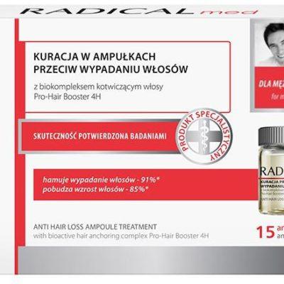Farmona Med Kuracja przeciw wypadaniu włosów dla mężczyzn, 5ml x 15 apmułek