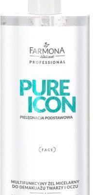 Farmona Professional Multifunkcyjny żel micelarny do demakijażu twarzy i oczu Farmona Pure Icon 500 ml