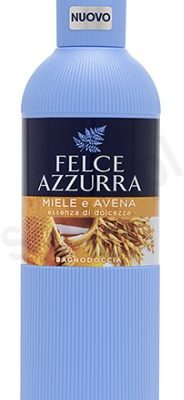 Felce Azzurra Miód i owies - Płyn do kąpieli (650 ml) 8001285679646_20197728211333