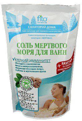 FITOCOSMETICS Sól do kąpieli Ilecka naturalna antystresowa 530g FITOCOSMETICS