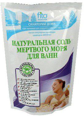 FITOKOSMETIK Fitokosmetic Sól do kąpieli naturalna 500g+30 z Morza Martwego FITOCOSMETICS