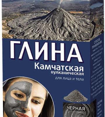 Fitokosmetik  Glinka czarna Kamczacka 100 g