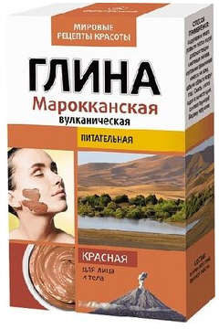 Fitokosmetik Glinka czerwona Marokańska 100 g