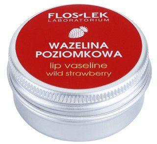 Flos-Lek Laboratorium Lip Care Wild Strawberry wazelina do ust 15 g