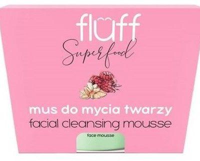 Fluff FLUFF Mus do mycia twarzy Maliny&Migdały 50ml