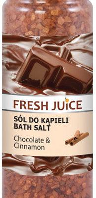 Fresh Juice chocolate & cinnamon Sól do kąpieli 700g