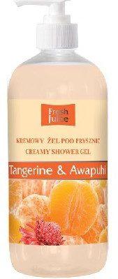 Fresh Juice Żel pod prysznic kremowy Mandarynka i Dziki Imbir 500ml ELFA PHARM