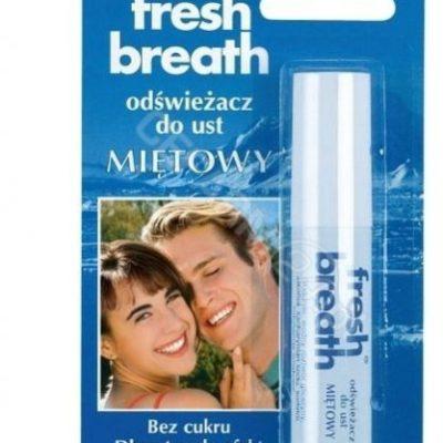Gaba International Odświeżacz do ust Fresh Breath miętowy 10 g niebieski