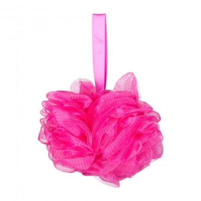 Gabriella Salvete Gabriella Salvete Body Care Mesh Massage Bath Sponge akcesoria do kąpieli 1 szt Pink