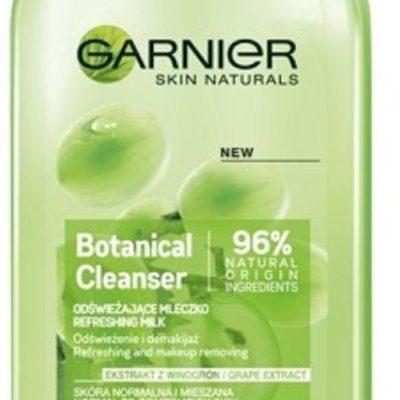 Garnier Botanical, odświeżające mleczko dla skóry normalnej i mieszanej Ekstrakt z Winogron, 200 ml