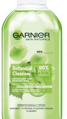 Garnier Botanical, odświeżający tonik dla skóry normalnej i mieszanej Ekstrakt z Winogron, 200 ml