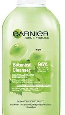 Garnier Garnier Botanical Cleanser Refreshing Milk odświeżające mleczko dla skóry normalnej i mieszanej Ekstrakt z Winogron 200ml