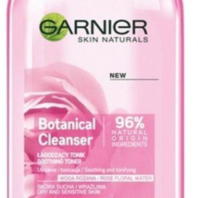 Garnier Skin Naturals, tonik łagodzący dla skóry suchej i wrażliwej Woda Różana, 200 ml