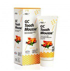 GC Corporation Corporation Tooth Mousse ochronna pasta bez fluoru 35ml (płynne szkliwo) - smak Tutti-Frutti