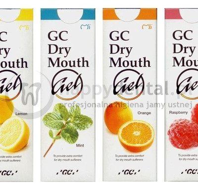 GC Corporation GC Dry Mouth Gel 35ml - żel przynoszący ulgę i ukojenie osobom ci