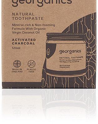 Georganics Georganics, mineralna pasta do zębów w słoiku Activated Charcoal, 60 ml