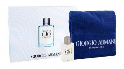 Giorgio Armani Giorgio Giorgio Acqua di Gio Pour Homme zestaw 100 ml Edt 100ml + Ręcznik dla mężczyzn