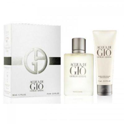 Giorgio Armani Giorgio Giorgio br><br>Acqua di Gio Pour Homme zestaw woda toaletowa spray 50ml + balsam po goleniu 75 ml
