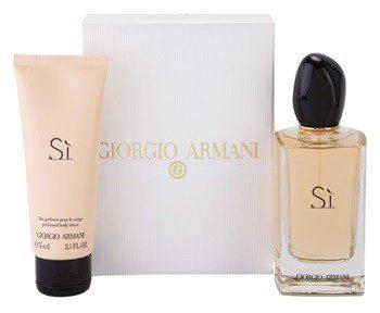 Giorgio Armani Si woda perfumowana 100 ml + mleczko do ciała 75 ml