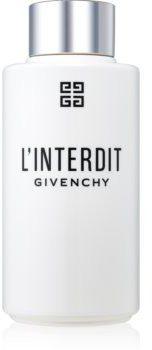 Givenchy LInterdit mleczko do ciała dla kobiet 200 ml