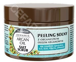 GlySkinCare EQUALAN Equalan peeling solny z organicznym olejem arganowym 400 g