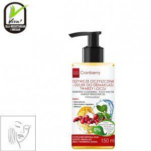 Go Cranberry Odżywcze oczyszczenie - olejek do demakijażu twarzy i oczu - Go Cranberry 2361-0