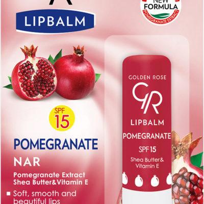 Golden Rose Lip Balm Ochronna Pomadka Do Ust Pomegranate