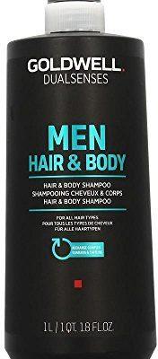 Goldwell Złota Well dualsenses Men Hair & Body Shampoo 1000ML oczyszczania orzeźwiającym do włosów i ciała 4021609026556