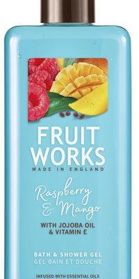 Grace Cole Fruit Works żel pod prysznic Malina & Mango 500ml