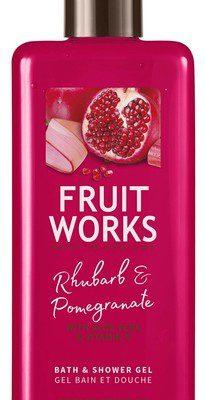 Grace Cole Fruit Works żel pod prysznic Rabarbar & Granat 500ml