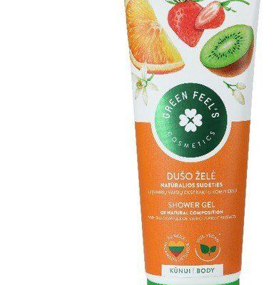 Green Feel'S Green FeelS Green FeelS Kremowy żel pod prysznic z ekstraktami owocowymi 250ml