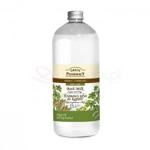 Green Pharmacy 1000ml Olej arganowy i Figi - kremowy płyn do kšpieli