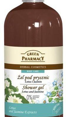Green Pharmacy Herbal Cosmetics Body Care Żel Pod Prysznic Lotos i Jaśmin 500ml
