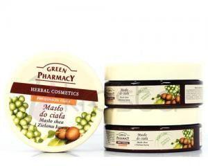 Green Pharmacy Masło shea i Zielona Kawa 200ml