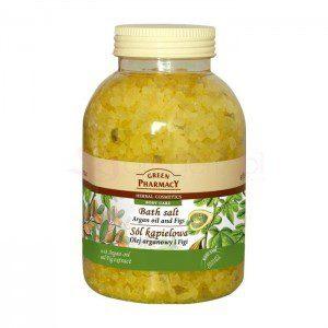 Green Pharmacy Olej Arganowy i Figi 1300g - sól kšpielowa
