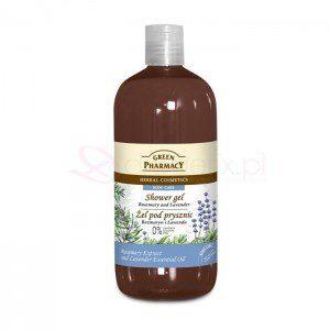 Green Pharmacy Rozmaryn i Lawenda 500 ml - żel pod prysznic