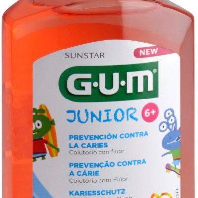 GUM Sunstar Butler GUM Junior płyn do płukania jamy ustnej TRUSKAWKA 300ml 3022