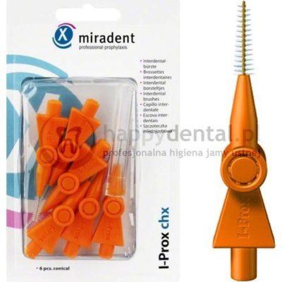 Hager and Werken MIRADENT zestaw I-Prox 6 sztuk CHX 2,5-5,0mm (pomarańczowy) - S