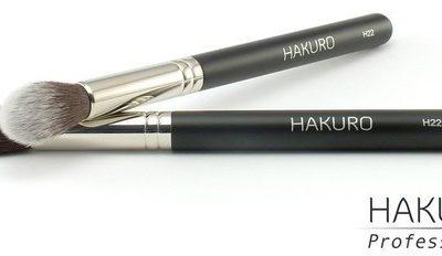Hakuro H22 Pędzel do korektora i pudru