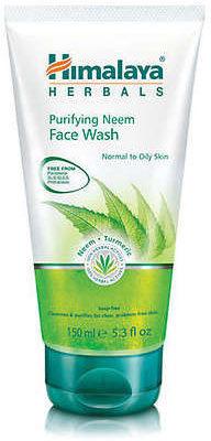 Himalaya Herbals Żel do mycia twarzy z miodlą indyjską (neem) - Herbals 2439-0