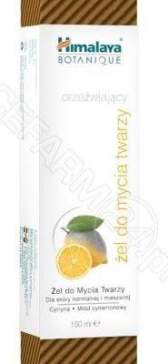 Himalaya żel botaniczny do mycia twarzy Cytryna i Miód dla skóry normalnej i mieszanej 150 ml
