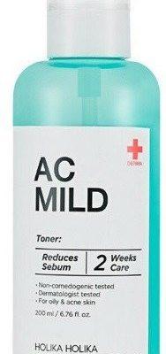 Holika Holika Holika AC&MILD Clear Toner Tonik oczyszczający 200ml 45517-uniw