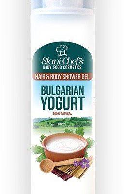Hristina Hristina Naturalny żel pod prysznic do ciała i włosów jogurt bułgarski 250 ml